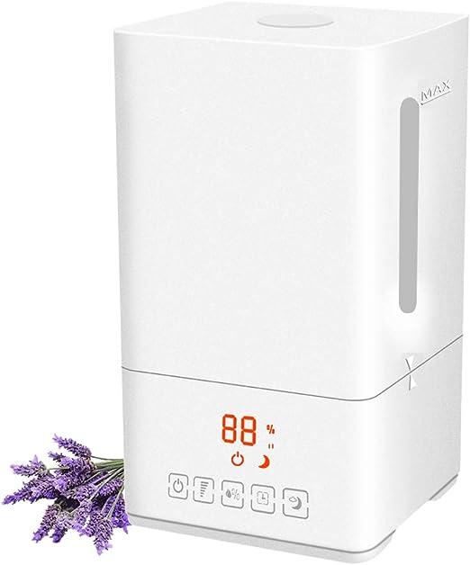 Humidificador Ultrasonico Para Dormitorios De Aire Modo De Niebla Fría Ajustable