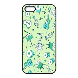 Guitar and music Hard Snap Phone Case Cover For For iphone 5c Case color11