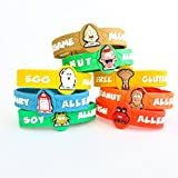 AllerMates Kids Medical Wristband - Tree Nut