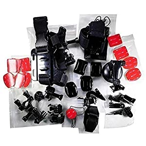 Science Purchase 78GOPRO33 Generic Accessory Kit for GoPro HERO3+, GoPro HERO3, GoPro HERO2 and GoPro HERO Cameras