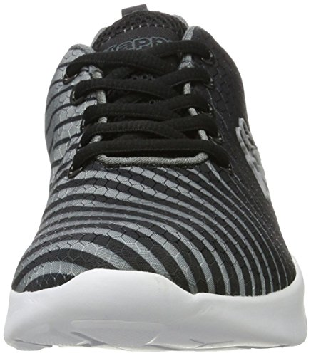 Kappa Shape, Zapatillas Unisex Adulto Negro (1116 Black/grey)