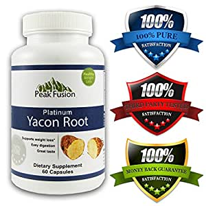 Potent Yacon Root Extract * 100% Pure and Natural * Only Brand Independently Third Party Tested for Purity and Potency * No Hassle Money Back Guarantee- Get Results or your Money Back! * Free Superfood e-Recipe Book ($17.99 Value) with Every Order