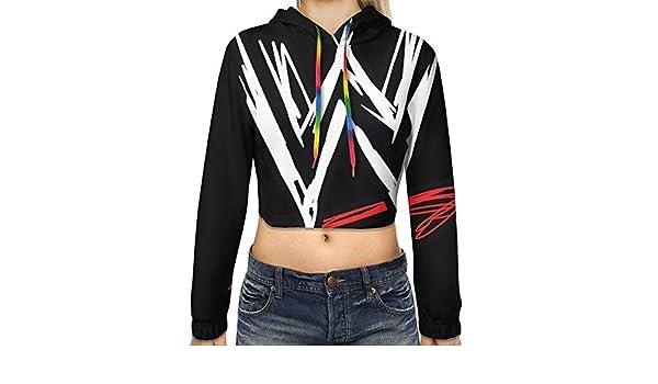 INTERESTPRINT Womens Crew Neck Long Sleeve Sweatshirt French Bulldogs Casual Pullover Tops XS-XL