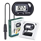Aquarium Thermometer, RISEPRO Digital Water Thermometer For Fish Tank Aquarium Marine Temperature
