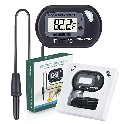 Aquarium thermometer digital water measure fish tank for Aquarium thermometer