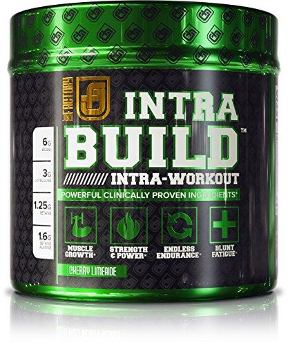 INTRABUILD Premium BCAA Intra Workout Supplement