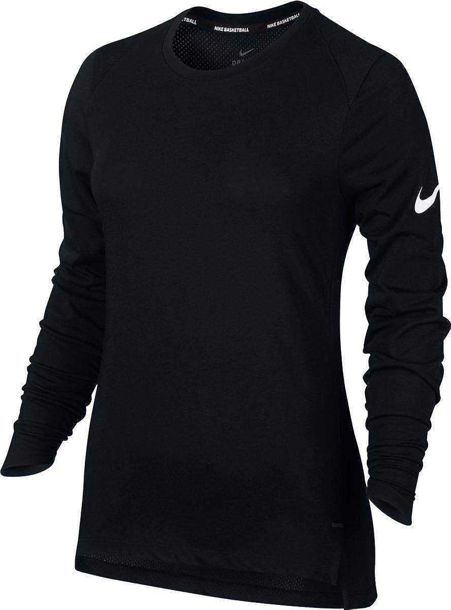 Nike W Nk Brthe LS Elite Camiseta de Manga Larga de ...