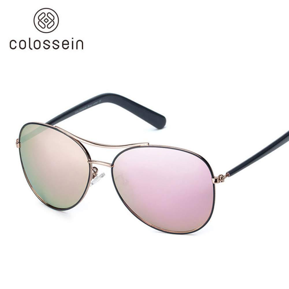 rose  ACKJ Lunettes de soleil femmes mode cadre doré classique   lunettes de soleil pour hommes lunettes de plein air