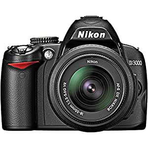 Amazon Com Nikon D3000 10 2mp Digital Slr Camera Body