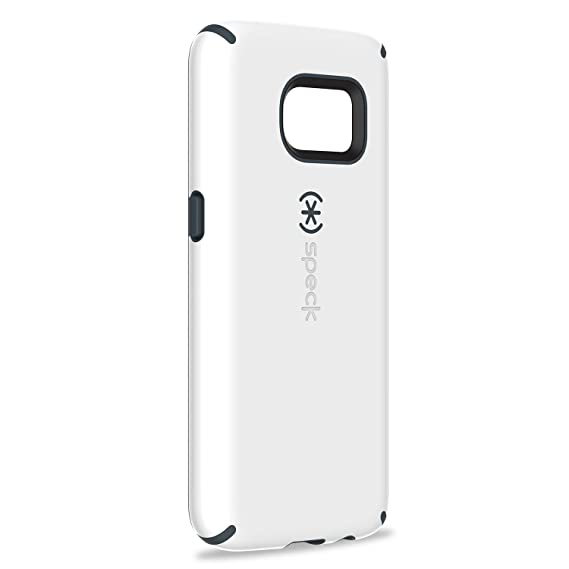 huge discount 5c82d 106b7 Speck Products CandyShell Case (White/Charcoal Grey) Compatible with  Samsung Galaxy S7, Military-Grade Protective Case