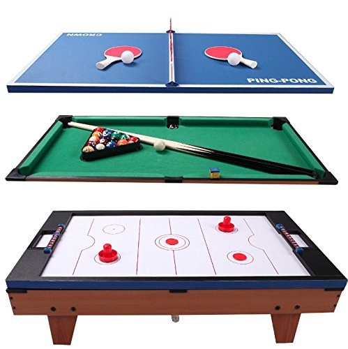 af297d816c3d5 3 In 1 Multi Game Swivel Rotating Game Table Air Powered Hockey ...