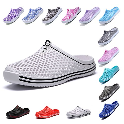 Garden White Shoes Slippers Summer bash Water Womens Footwear OUYAJI Beach Clog ZvAxHU