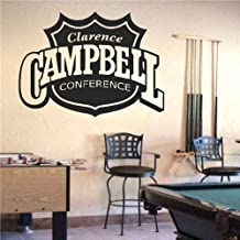 Wall Mural Vinyl Sticker Sports Logos Nhl-campbell Conference (S515)