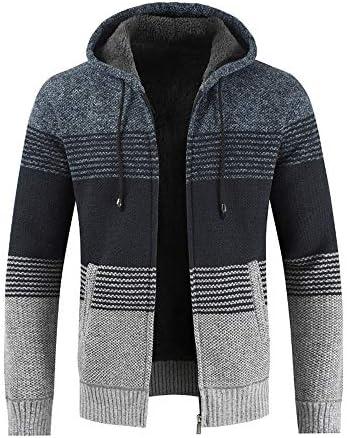 Homme Manteau d/'hiver Slim Fit Sweat à Capuche Outwear chandail chaud manteau veste
