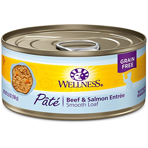 Beef and Salmon Formula Canned Cat Food