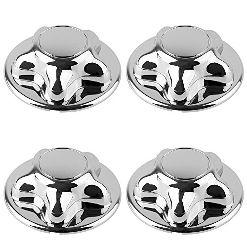 F150 Chrome Rims (F150 Center Caps, LEDKINGDOMUS 4pcs Center Caps for 1997-2000 Ford F150 16