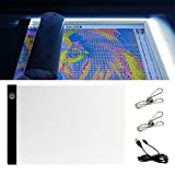 Diamond Painting LED Light Pad Board for Cross Stitch Kits Paint with Diamonds Full Drill Embroidery Kit