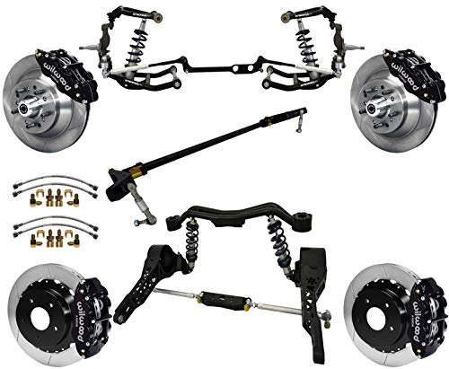 NEW RIDETECH FRONT COILOVER KIT,CONTROL & STEERING ARMS,SPINDLES,FRONT SWAY BAR,13