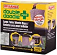 Reliance Products Double Doodie Toilet With 6 Large Bags