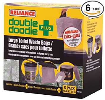 Amazon.com : Reliance Products Double Doodie Plus Large Toilet ...