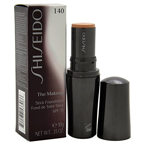 Shiseido The Makeup Stick SPF 15# I40 Natural Fair Ivory Foundation for Women, 0.35 Ounce -