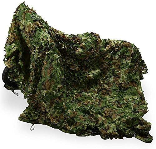 ZHJBD Camouflage Tarnnetz, Oxford-Gewebe-Tarnnetz-Militärfiletarbeitsschießen-kampierender Fell (Größe: 6x10M) (Size : 2x8m)