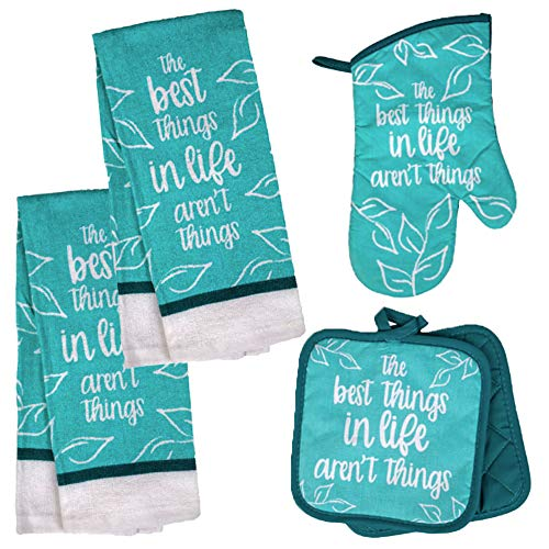 Inspirational Kitchen Towel Quilted Holders