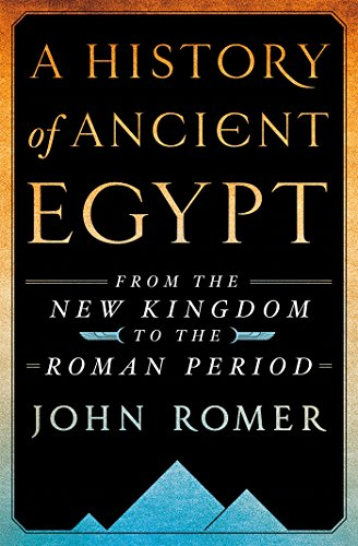 Book Cover: A History of Ancient Egypt Volume 2