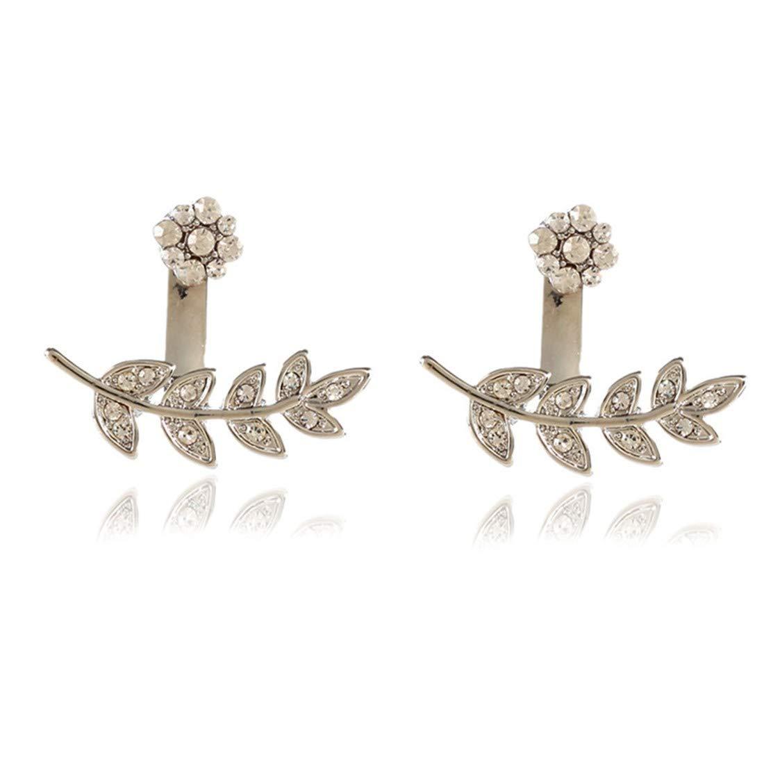 ball earrings|clip on earrings|ear cuffs|dangle earrings|earring jackets|hoop earrings|stud earrings|Ears and ears are full of drill studs.