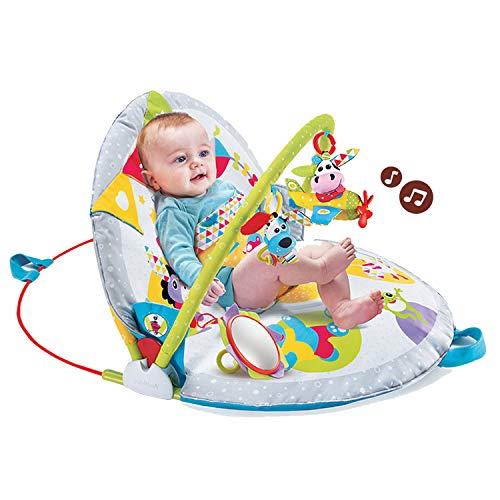 Yookidoo Gymotion Lay to Sit-Up Play Mat Infant Activity Toy for Baby 0 - 12 Month