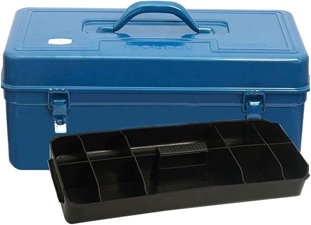 Cajas de herramientas Caja de herramientas metálicas Caja de herramientas Organizador de servicio pesado con bandeja ...