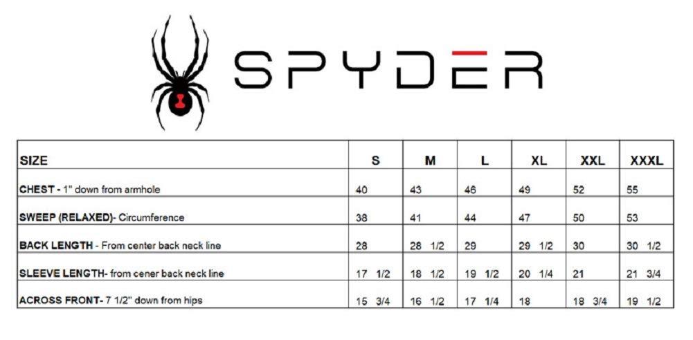 Spyder Mens Hyrdo Series Stretch Short Sleeve Rashguard Tee