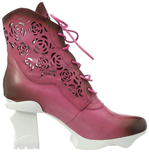 Vita Femme Laura Armance Beige Fushia 09 Bottines Pink AT4vU4x8qn