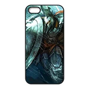 iPhone 5 5s Cell Phone Case Black League of legends Pantheon Custom KHJSFNUJF7341