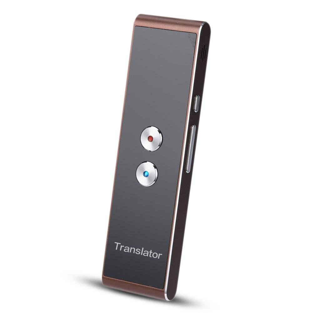 RONDA Portable Smart Language Translator, Real-Time Multi-Language Translator Travel Translator With Voice Input And Voice Output for 30 Languages for Learning/Travelers/Business Meeting
