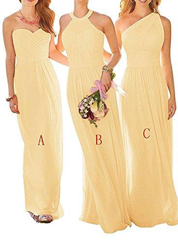 B Gelb of Linie Damen the Beauty Kleid A Leader 7w4vqan