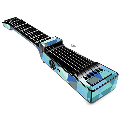 MightySkins Skin For Jamstik+ Portable SmartGuitar - Blue Kaleidoscope | Protective, Durable, and Unique Vinyl Decal wrap cover | Easy To Apply, Remove, and Change Styles | Made in the USA by MightySkins