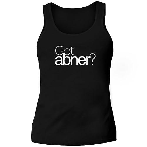 Idakoos Got Abner? - Nomi Maschili - Canotta Donna