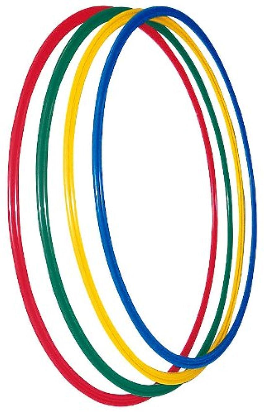 限界デンマーク語下手フラフープ 組み立て式8本 シェイプアップ スポーツ サイズ調整可 エクササイズ ダイエット 直径95cm