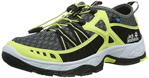 Jack Wolfskin RIVERSIDE WOMEN 4008561-5018080 mujer zapatos de fitness multicolor - Mehrfarbig (fresh lemon)