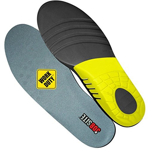 Jobsite power tuff orthotic boot insoles