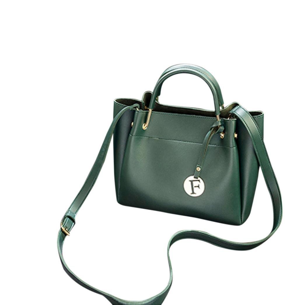 Clearance Tote Bag, SanCanSn Pure Color Shoulder Bag Messenger Bag Crossbody Bag (1PC, Green)