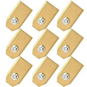 GIlH 9pcs 0.6mm sustitución del cortador cortador de césped ...