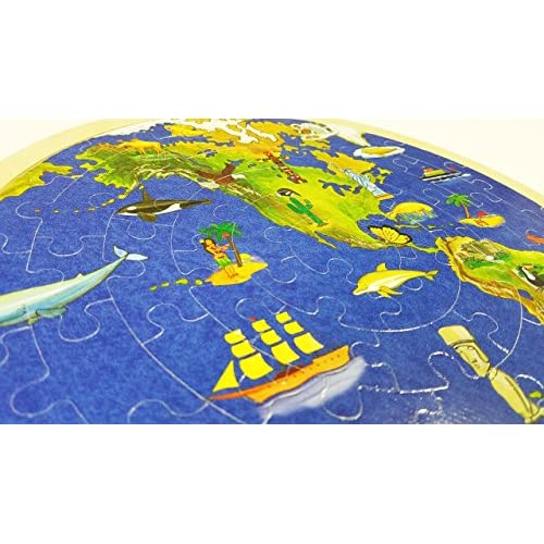 High quality puzzle world map wooden childrens educational early high quality puzzle world map wooden childrens educational early childhood jigsaw wooden puzzle 57p gumiabroncs Images