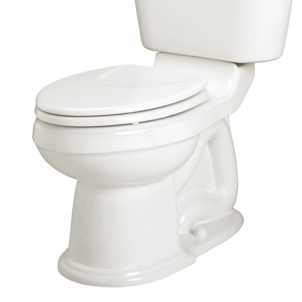 American Standard 3101.016.020 Oakmont Champion-4 Right Height Elongated Toilet Bowl, White, Seat Not Included
