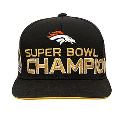 Denver Broncos NFL Super Bowl 50 Champhions Youth Adjustable Backstrap Hat