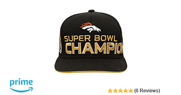 105ad07208386d Amazon.com : Outerstuff Peyton Manning #18 Denver Broncos Youth Super Bowl  50 Champions Limited Edition Adjustable Snapback : Sports & Outdoors