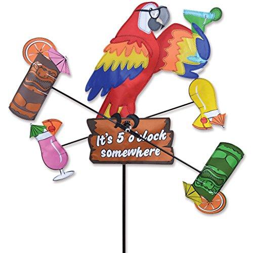 Whirligig Spinner - 18 In. Island Parrot Spinner
