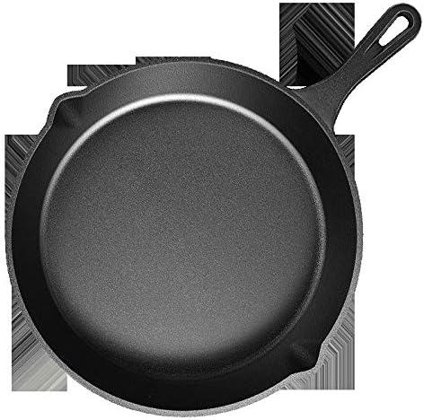 ZPWSNH Poêle À Frire À Un Manche en Steak Frit, Poêle À Omelette for Barbecue, Cuisinière À Gaz Non Adhésive Antiadhésive Wok (Size : 20cm)