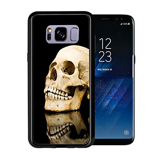 Dark Evil Skull Reflection for Samsung Galaxy S8 2017 Case Cover by Atomic Market